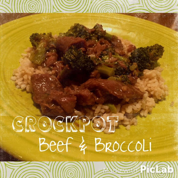 Crock-Pot Beef & Broccoli